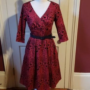 Hell Bunny dress. Red Riding Hood, anyone? S NWT